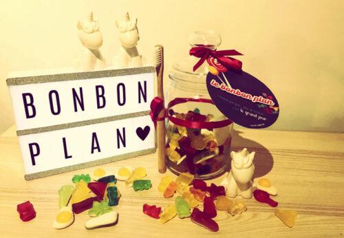 Offrir un bon cadeau de manière originale  : Le bonbon plan
