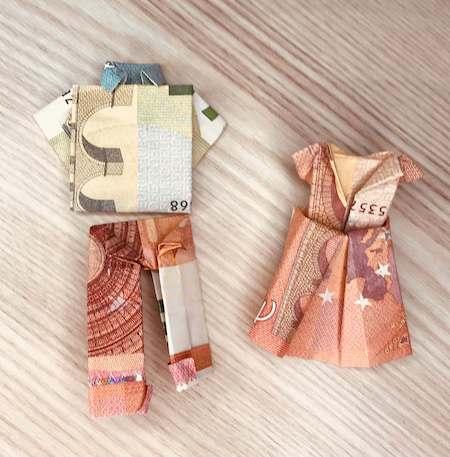 Origami billet